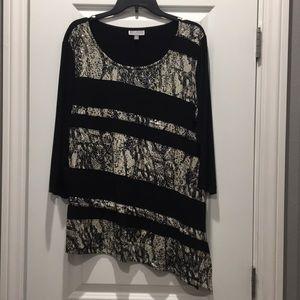 Beautiful JM Collection size XL long dress top
